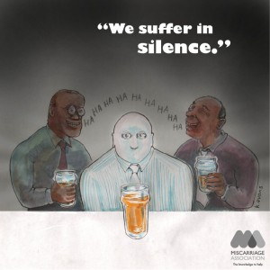 We suffer in silence